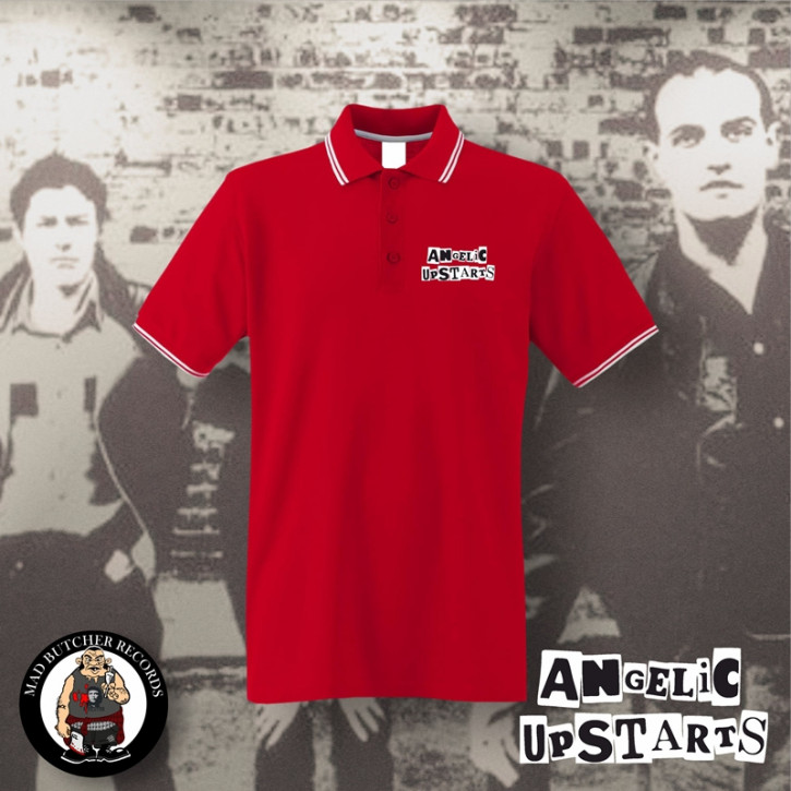ANGELIC UPSTARTS POLO L / ROT