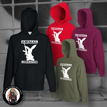 ANIMAL LIBERATION RABBIT HOOD