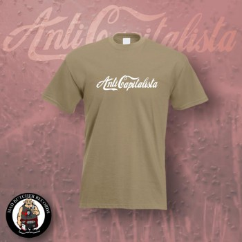 ANTI CAPITALISTA T-SHIRT XL / BEIGE