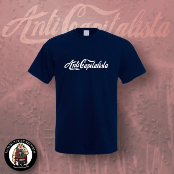 ANTI CAPITALISTA T-SHIRT M / navy
