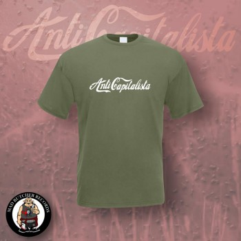ANTI CAPITALISTA T-SHIRT M / OLIVE