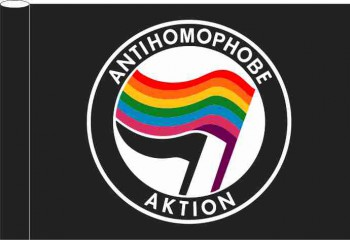 ANTIHOMOPHOBIC FLAG