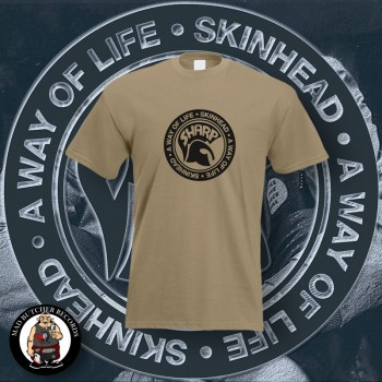 SHARP A WAY OF LIFE T-SHIRT M / BEIGE