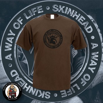 SHARP A WAY OF LIFE T-SHIRT 3XL / BRAUN