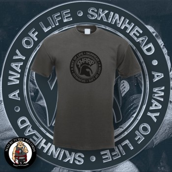 SHARP A WAY OF LIFE T-SHIRT 4XL / DUNKELGRAU