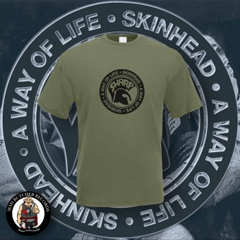SHARP A WAY OF LIFE T-SHIRT M / OLIVE