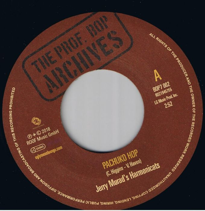 Jerry Murad's Harmonicats - Pachuko Hop / Al Brown & His Tunetoppers - Hit It And Go 7
