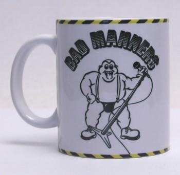 BAD MANNERS KAFFEEBECHER