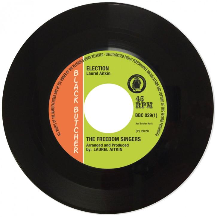 The Freedom Singers/Flece & The Live Shocks Election/Tomorrow's World  7