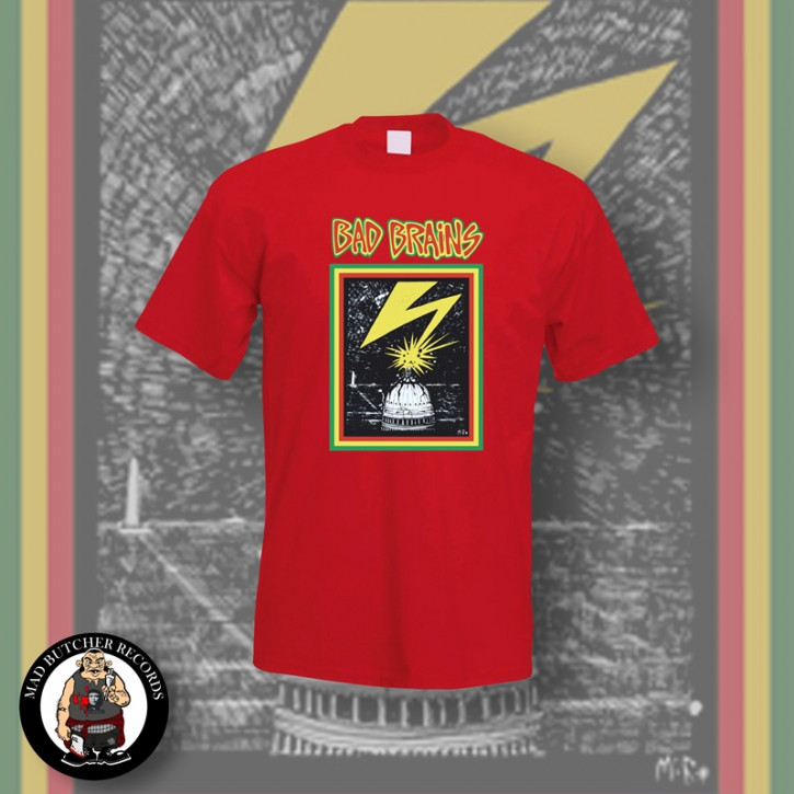 BAD BRAINS CAPITOL T-SHIRT M / ROT