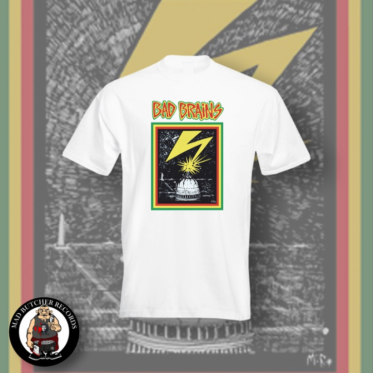 BAD BRAINS CAPITOL T-SHIRT M / WEISS