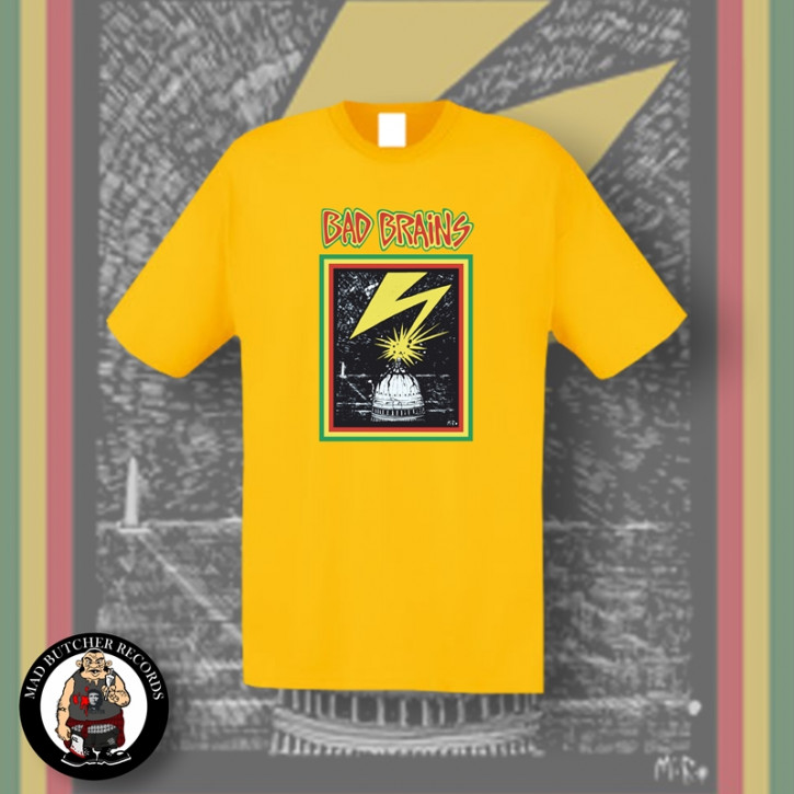 BAD BRAINS CAPITOL T-SHIRT S / GELB