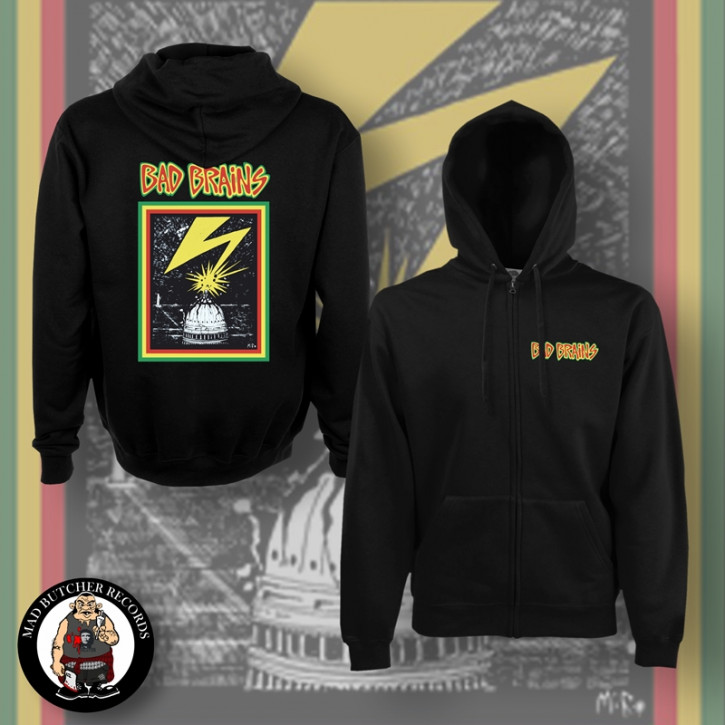 BAD BRAINS CAPITOL ZIPPER