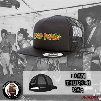 BAD BRAINS SMALL LOGO MESH CAP Black