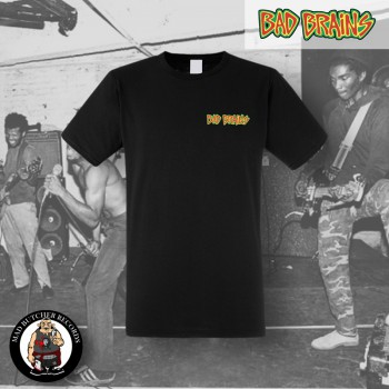 BAD BRAINS LOGO SMALL T-SHIRT SCHWARZ / M