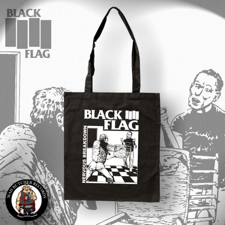 BLACK FLAG NERVOUS BREAKDOWN TRAGETASCHE