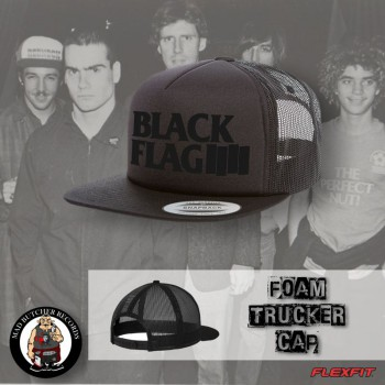 BLACK FLAG BLACK ON BLACK MESH CAP