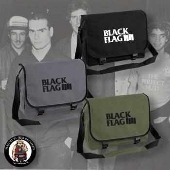 BLACK FLAG LOGO MESSENGER BAG