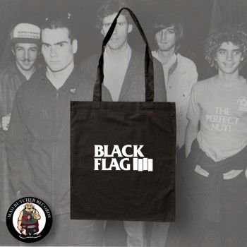 BLACK FLAG LOGO BAG
