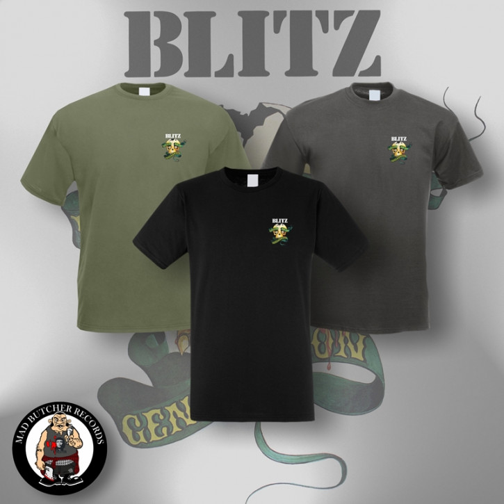 BLITZ VOICE OF A GENERATION SMALL T-SHIRT