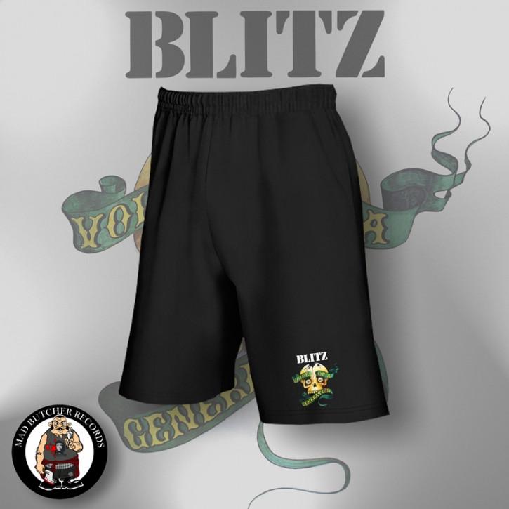 BLITZ VOICE OF A GENERATION SHORTS SCHWARZ / XL
