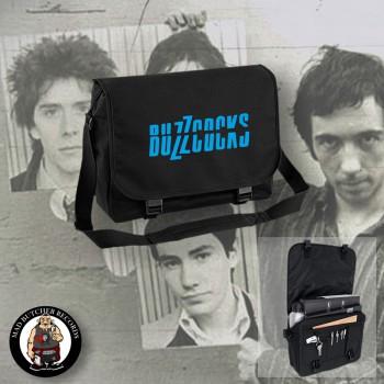 BUZZCOCKS MESSENGER BAG BLUE
