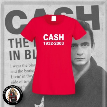 CASH 1932 - 2003 GIRLIE M / red