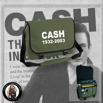 CASH 1932 - 2003 MESSENGER BAG OLIVE