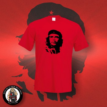CHE HEAD T-SHIRT S / red