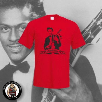 CHUCK BERRY T-SHIRT XL / ROT
