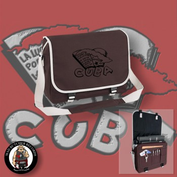 CUBA (LA LUCHA) MESSENGER BAG brown