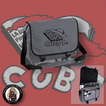 CUBA (LA LUCHA) MESSENGER BAG grey