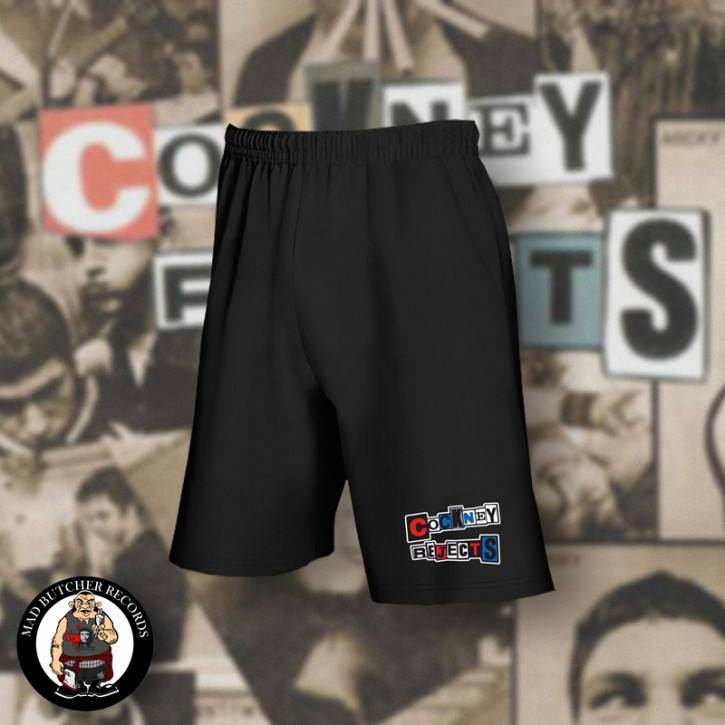 COCKNEY REJECTS SHORTS SCHWARZ / M