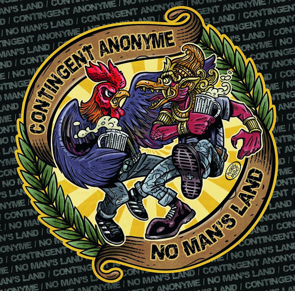"Contingent Anonyme / No Man's Land Split 7"" EP"