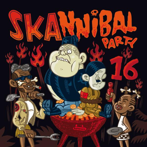 SKANNIBAL PARTY VOL.16 CD