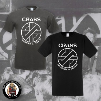 CRASS ANARCHY & PEACE T-SHIRT