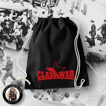 CLASS WAR BLACK/RED STAR GYM SAC