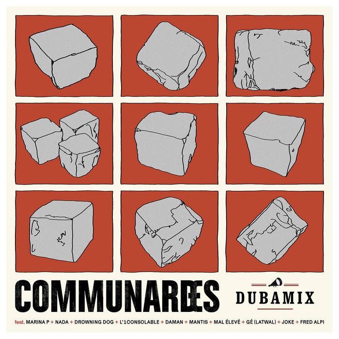 "Dubamix – Communardes Communards 12"" LP"