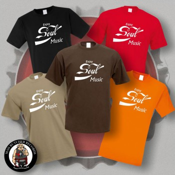 ENJOY SOUL MUSIC T-SHIRT