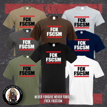 FUCK FASCISM T-SHIRT