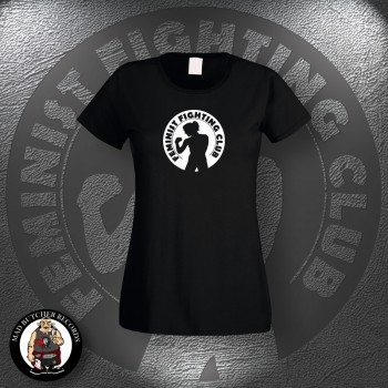 FEMINIST FIGHTING CLUB GIRLIE SCHWARZ / XL