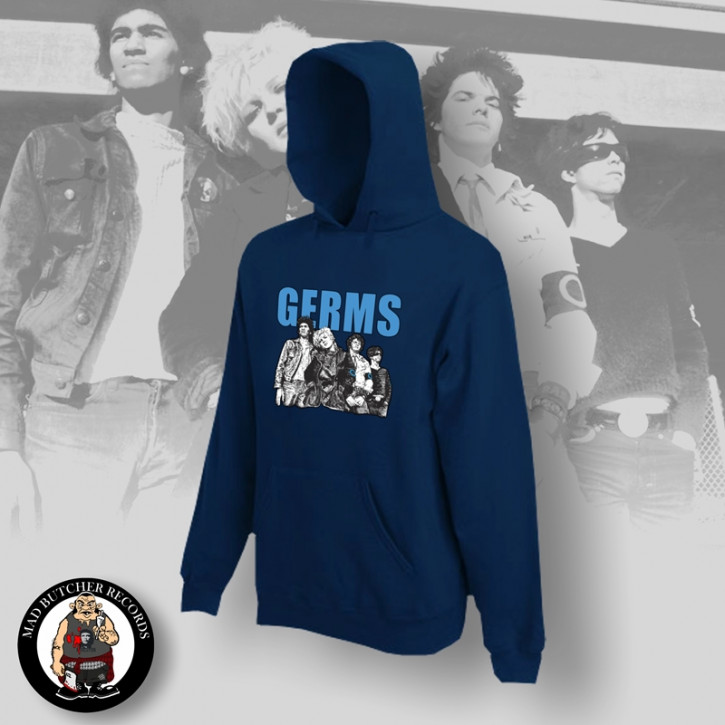 THE GERMS BAND HOOD M / NAVY