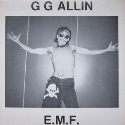 GG Allin - E.M.F. LP