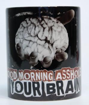 GOOD MORNING ASSHOLE KAFFEEBECHER