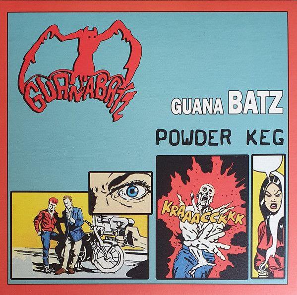 GUANA BATZ Powder Keg LP (orange vinyl)