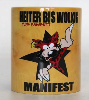HEITER BIS WOLKIG MANIFEST MUG