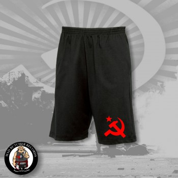 HAMMER & SICKLE SHORTS XL