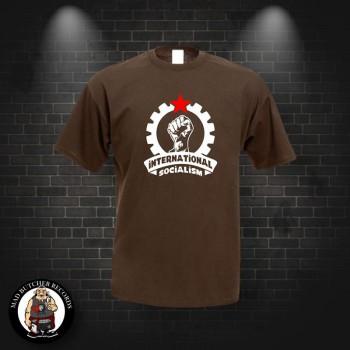 INTERNATIONAL SOCIALISM T-SHIRT XL / brown