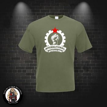 INTERNATIONAL SOCIALISM T-SHIRT S / OLIVE