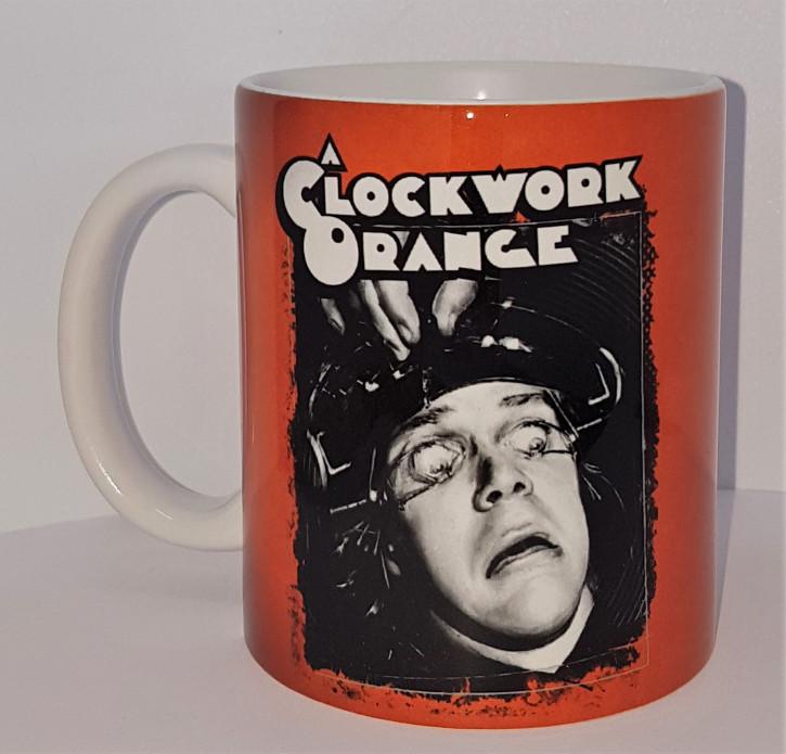 CLOCKWORK ORANGE EYE KAFFEEBECHER